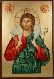 Jesus_Christ_the_Good_Shepherd_Hand-Painted_Orthodox_Icon_SOLD_1